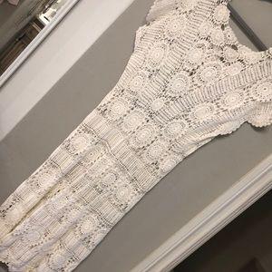 Dresses & Skirts - Amazing vintage handmade crotchet dress